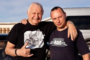 Martin with Dick Dale